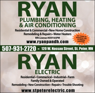 Plumbing, Heating & Air Conditioning