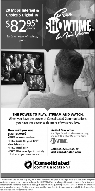 The Power to Play, Stream and Watch