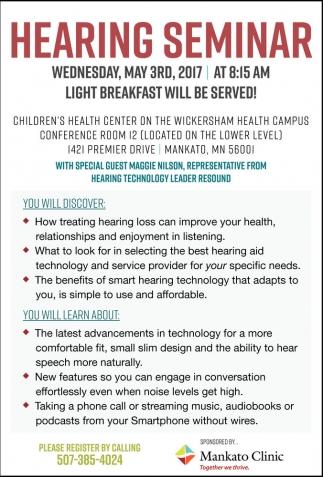 Hearing Seminar