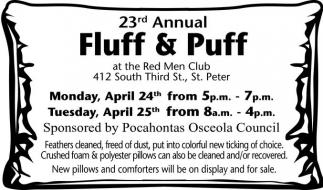 23rd Annual Fluff & Puff