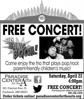 Free Concert! Big Bang Boom!