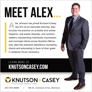 Alex Johnson Associate Attorney