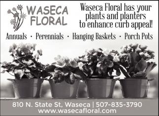 Annuals, Perennials, Hanging Baskets, Porch Pots