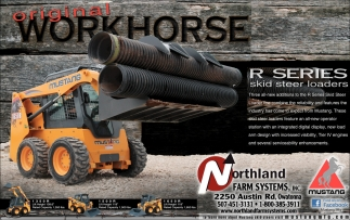 R Series skid steer loaders, Northland Farm Systems, Owatonna, MN