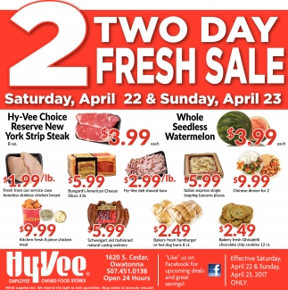 2 two day fresh sale