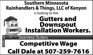 Ads For Southern Minnesota Rainhandler & Things in Southern Minn