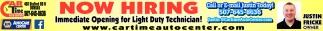 Light Duty Technician