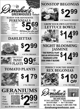 Perennials $5,69