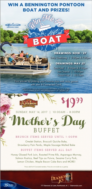 The Kitchen Buffet, Mother's Day Buffet