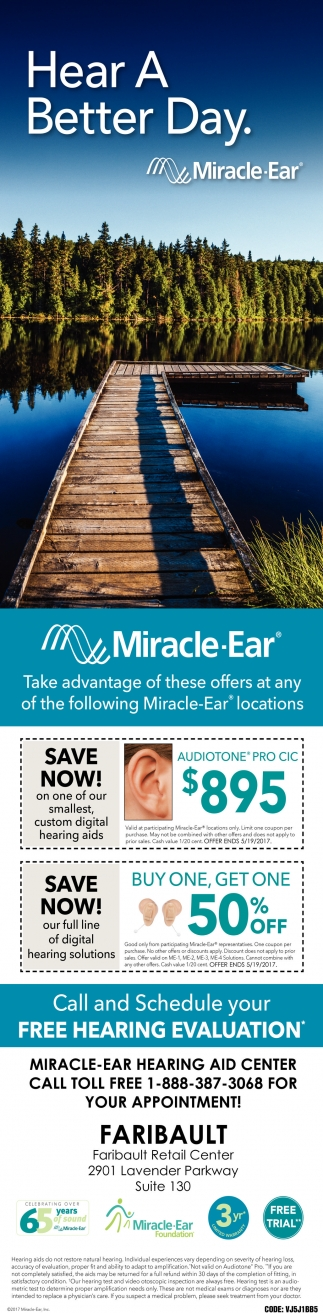 Free Hearing Evaluation