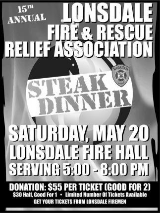 15th Annual Steak Dinner
