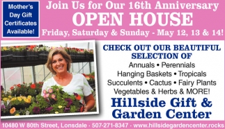 Join Us for Our 16th Anniversary Open House