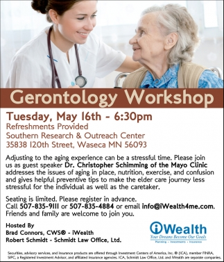 Gerontology Workshop