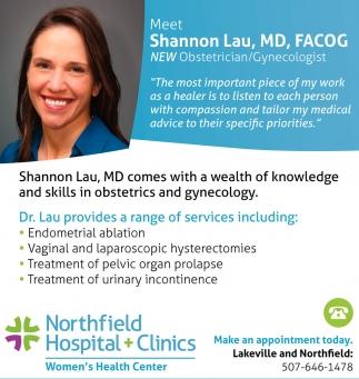 Meet Shannon Lau, MD, FACOG