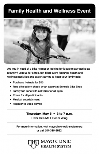 Family Health and Wellness Event