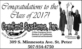 Congratulations to the Class of 2017!