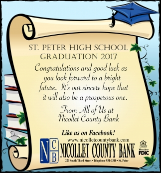 St. Peter High School Graduation 2017