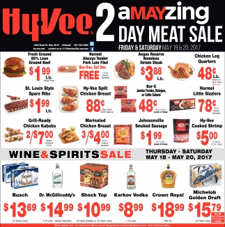 2 Amayzing Day Meat Sale