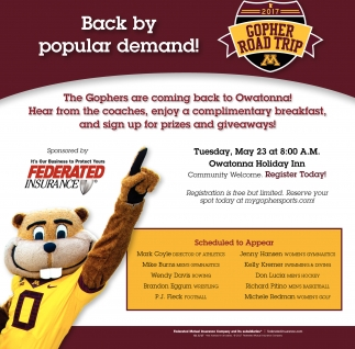 2017 Gopher Road Trip