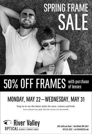 Spring Frame Sale