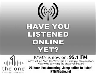 KYMN is now on 95.1 FM