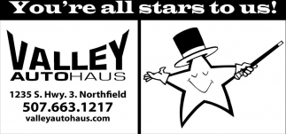 You're all stars to us!