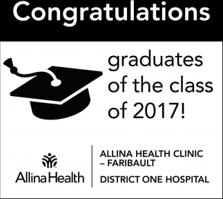 Congratulations gradfuates of the class of 2017!