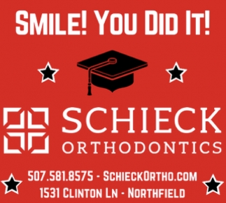 Smile! You did it!, Schieck Orthodontics, Northfield, MN