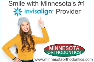 Smile with Minnesota's #1 invisalign Provider, Minnesota Orthodontics, Northfield, MN