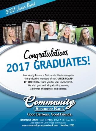 Congratulations 2017 Graduates!