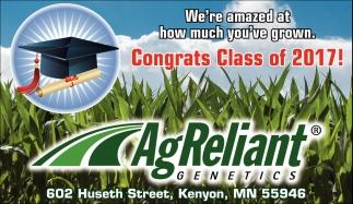 Congrats Class of 2017!