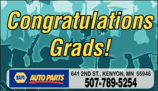 Ads For Napa Auto Parts - Kenyon in Southern Minn
