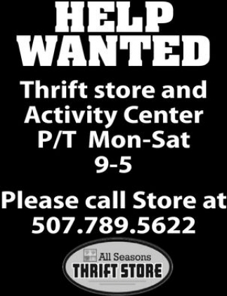 Thrift store and Activity Center