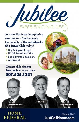 Home Federal's 55+ Travel Club