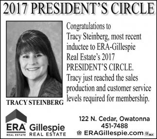 2017 Presidents's Circle