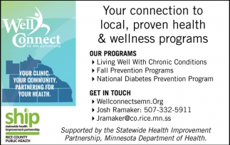 Ads For Statewide Health Improvement Partnership in Southern Minn