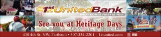 See you at Heritage Days