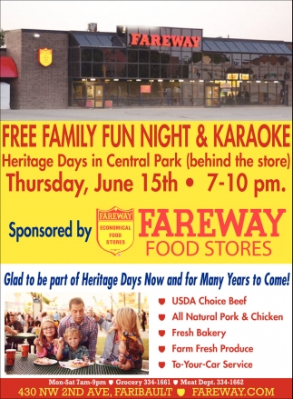 Free Family Fun Night & Karaoke