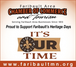 Proud to Support Faribault's Heritage Days