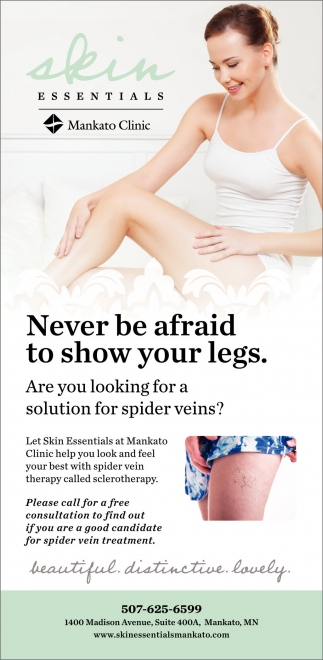 Never be afraid to show your legs
