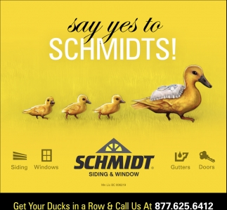 Say yes to Schmidts!