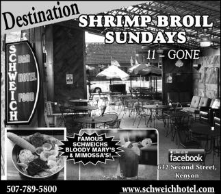 Shrimp Broil Sundays