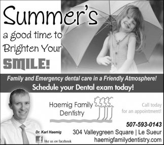 Summer's a good time to Brighten Your Smile!