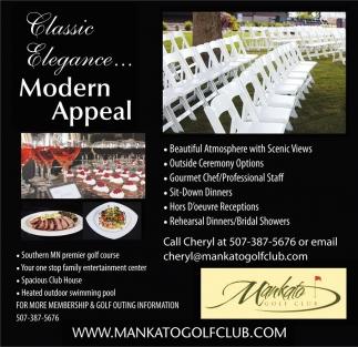 Classic Elegance... Modern Appeal