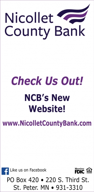Check Us Out! NCB's New Website!