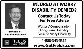 Injured at work? Disability Denied?