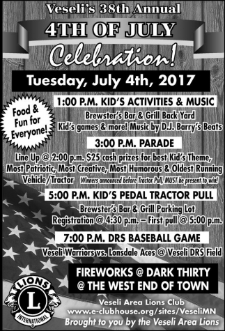 Veseli's 38th Annual 4th of July Celebration!