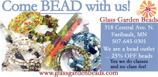 Come Bead with us!, Glass Garden Beads