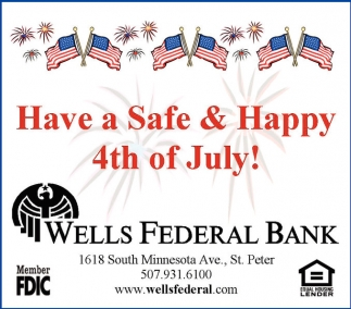 Have a Sefe & Happy 4th of July!