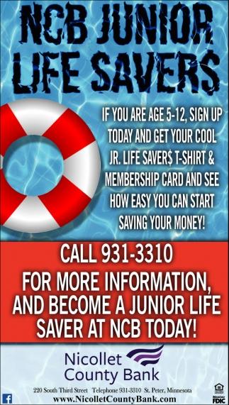 NCB Junior Life Savers